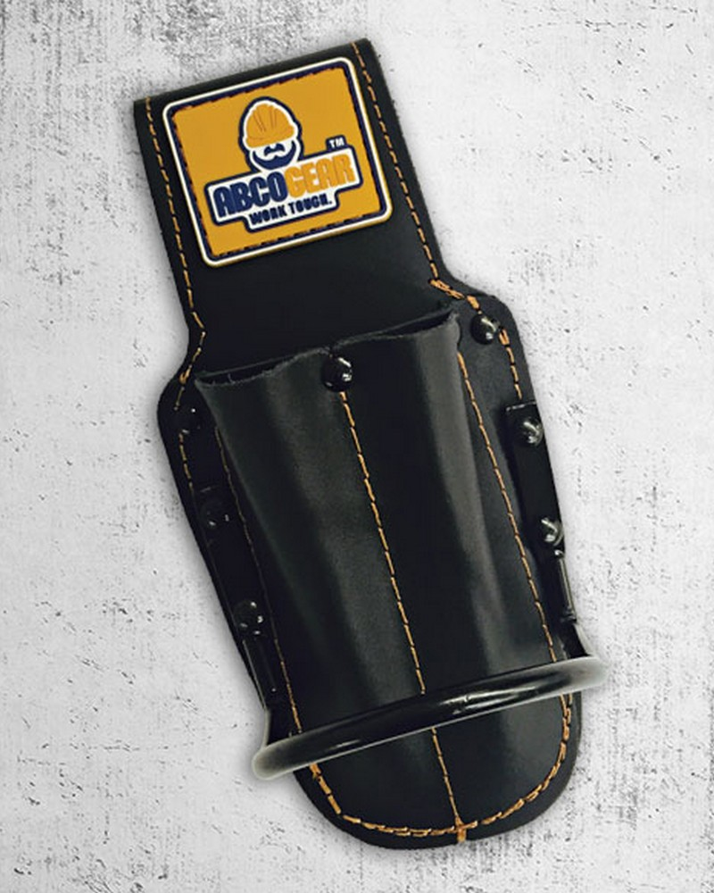 Hammer Holder w/Utility Pockets Leather -1325-1