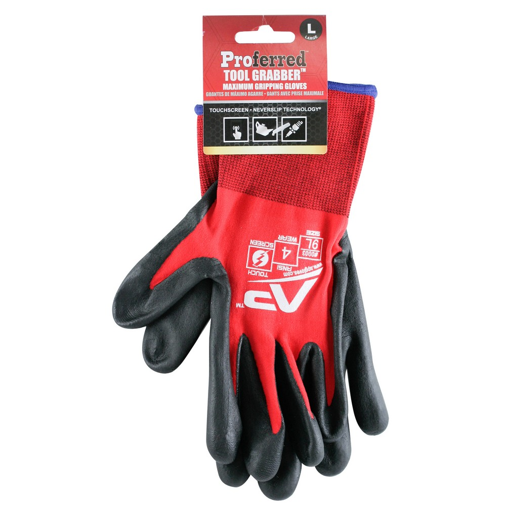 Triple Plymer Coated Industrial Gloves