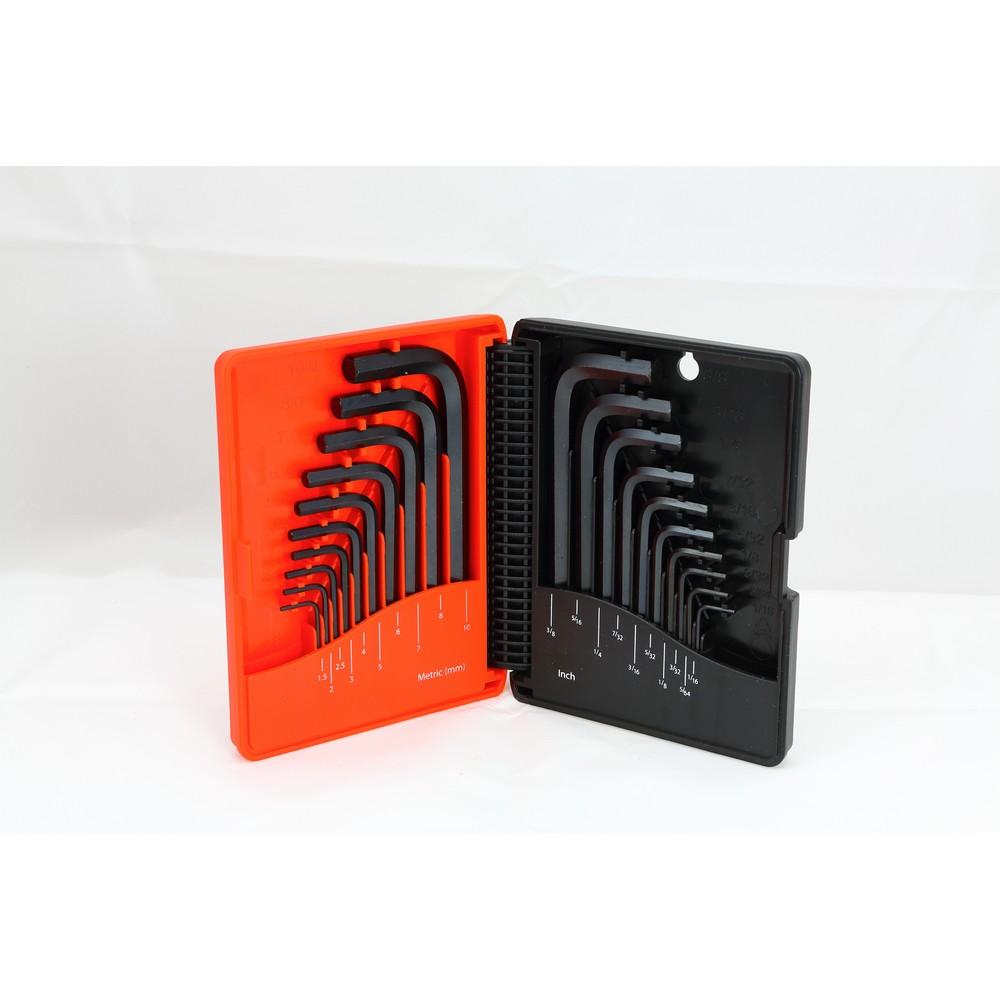 Short arm HEX key set (20 piece) -T36001