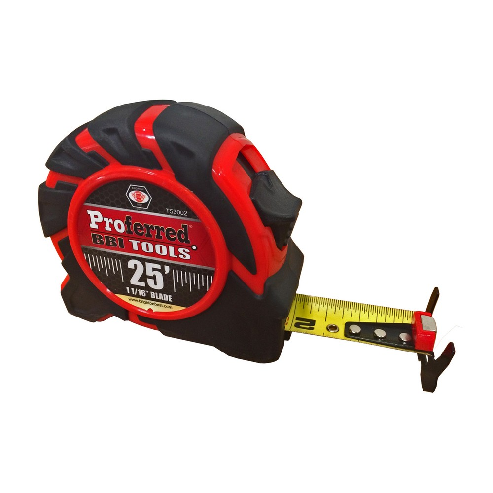 25' Tape Measure 1/16